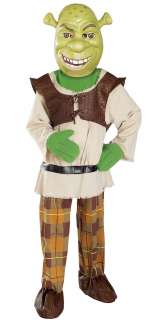 Shrek w/Mask Deluxe Child Costume   Includes Character mask, deluxe
