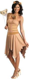 The Lion King   Sassy Nala Adult Costume   Includes Dress with