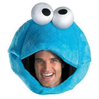 Sesame Street Cookie Monster Adult Headpiece   Includes one Cookie