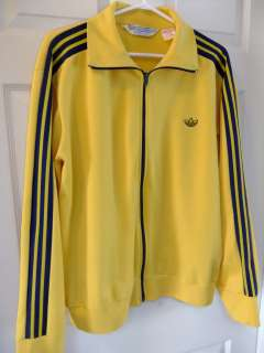 Very Rare 70s 80s Vintage Adidas Tracksuit Jacket Top Firebird