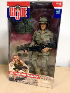 Hasbro GI Joe Gulf War Army Grenadier Action Figure 076930817520