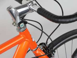 54cm Aluminum Road Racing Bicycle   Orange