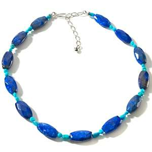 Jay King Lapis and Sleeping Beauty Turquoise Sterling Silver 18