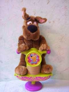 Scooby Doo talkn & Jumpn Pogo stick 14plush