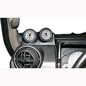 Meter 15022 Black Dual Dash Pod for 2002 2006 Hummer H2 Automotive