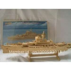 3d wooden simulation model puzzles of the temple of cruiser: Toys