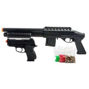 Mossberg Tactical Pistol Grip Spring Airsoft Shotgun Kit: