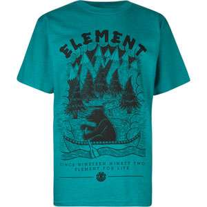 ELEMENT River Bear Boys T Shirt 185491200  Graphic Tees