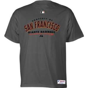 San Francisco Giants Youth Authentic Collection Road Property Tee