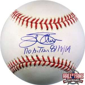/Hand Signed Rawlings MLB Baseball with No Hitter 8/16/69 Inscription