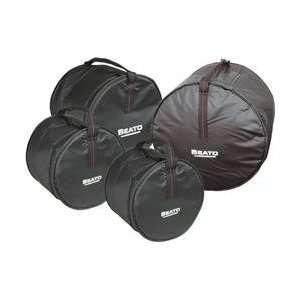 Series 4 Piece Fusion Drum Bag Set (Standard) Musical Instruments