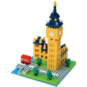 Nanoblock   London Big Ben Set Toys & Games