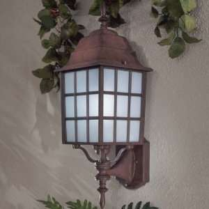 Bridgeport PL Outdoor Wall Lantern in Antique Bronze   Energy Star
