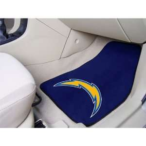 BSS   San Diego Chargers NFL Car Floor Mats (2 Front)