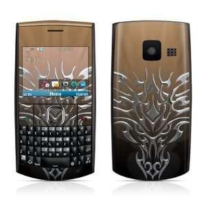 Tribal Dragon Chrome Design Protective Skin Decal Sticker for Nokia
