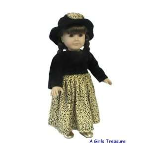 American Girl Doll Clothes Leopard Dress Toys & Games