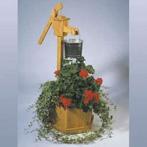 Plan for Water Pump Planter Patio, Lawn & Garden
