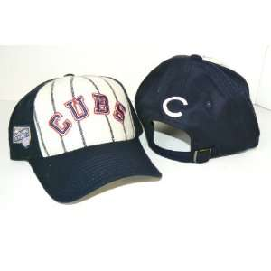 MLB Chicago Cubs Vintage Pin Stripe Cooperstown Collection