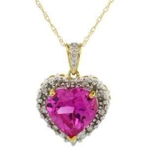 Carat Brilliant Cut Diamonds & 5.00 Carats 10mm Heart shaped Pink