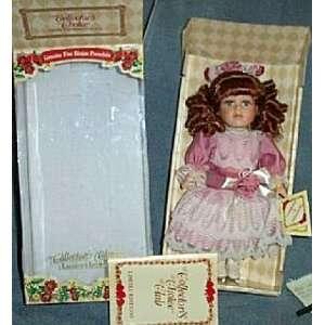 Genuine Fine Bisque Porcelain Doll (Collectors Choice) Toys & Games