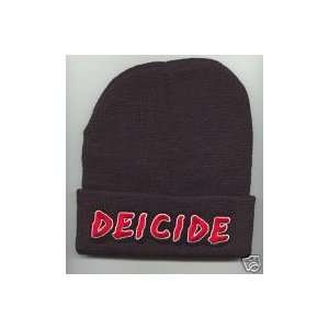 DEICEDE Beanie HAT SKI CAP Black NEW