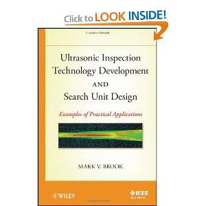 Ultrasonic Inspection Technology Development and Search Unit