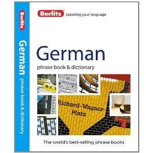 Berlitz German Phrase Book & Dictionary (English and