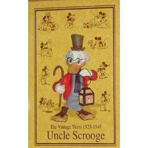 Disney Uncle Scrooge McDuck The Vintage Years 1928 1948 Statue: Home