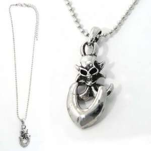 SG Paris Necklace For Men A.Rhodium Argente Necklace Necklace Metal