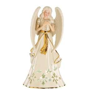 Lenox Christmas Angelic Visions Hope Angel Lighted Figurine