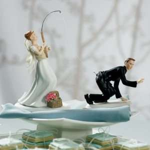 Gone Fishing Mix & Match Cake Toppers   Fishing Bride