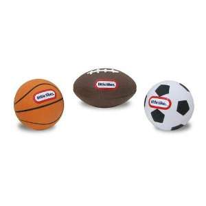 Little Tikes Micro Foam Sport Ball Set   3 Pack Football