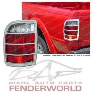 FORD RANGER 98 99 00 01 CHROME TAIL LIGHT COVER TRIM