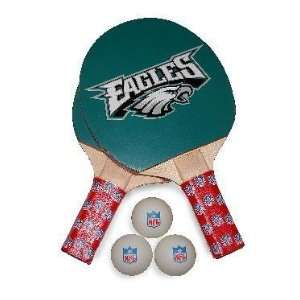 Eagles NFL Table Tennis/Ping Pong Paddles