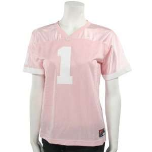 North Carolina Tar Heels (UNC) #1 Pink Girls Replica Football Jersey