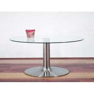 RTA Home & Office Glass End Table