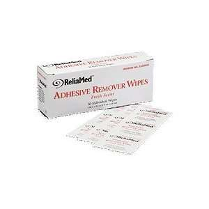 Reliamed Adhesive Remover Wipes   Box of 50