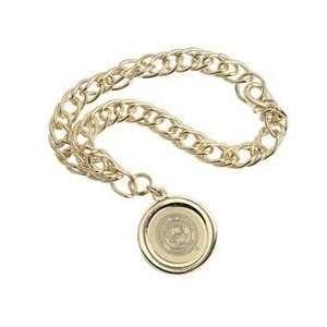 Illinois   Charm Bracelet   Gold