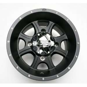 ITP SS108 12 in. Black Alloy Wheel 1228287536B