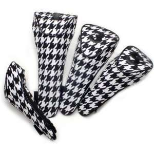 Glove It Houndstooth Ladies Golf Club Covers Sports & Outdoors