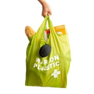 Suck UK Green Aid Grenade Reusable Shopping Bag: Kitchen