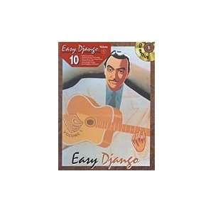Easy Django Volume 1 for Guitar TAB (Book and CD) Musical Instruments