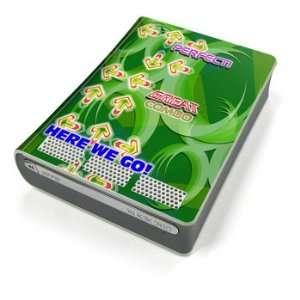 Dance Arcade Green Design Xbox 360 HD DVD Decorative Protector Skin