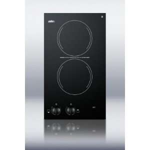 Two Burner 230V Electric Cooktop With Two Heating Elements