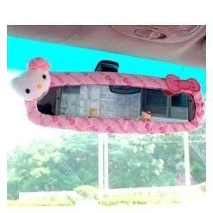Sanrio Hello Kitty Car Rear View Mirror Cover pink  Sports