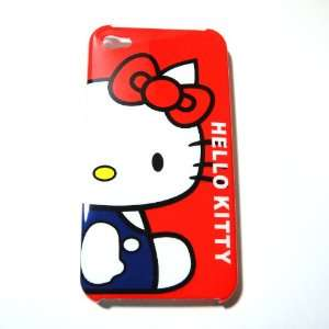 Hello Kitty red Snap On Hard Case Cover for iphone 4 4G Cell