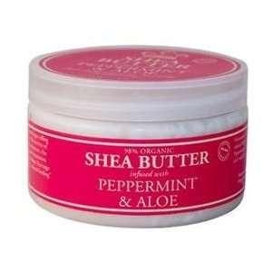 Nubian Heritage   Shea Butter Peppermint & Aloe   4 oz