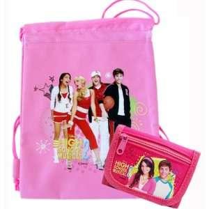 High School Musical 2 Drawstring Backpack Cinch Bag