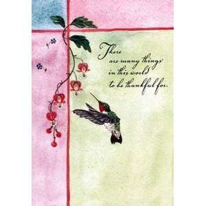 Holiday Mothers Day Greeting Card Thankful For Everything