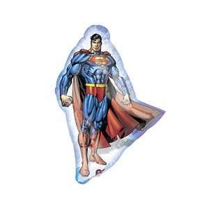 Superman Action Pose 14 Air Filled Cup & Stick Included